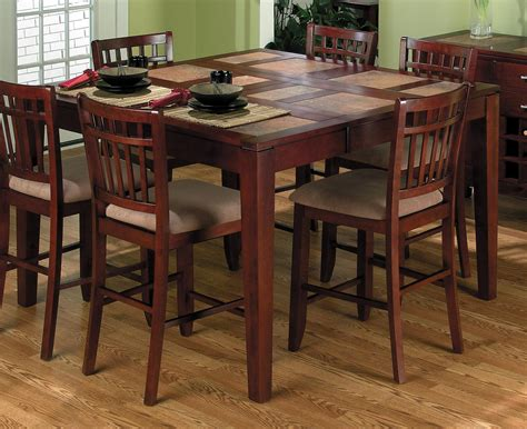 Dining Room Set High Tables High Top Kitchen Table Sets Homesfeed