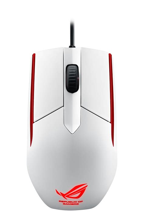 Termurah Asus Rog Sica Gaming Mouse White Color asus presenta nuevo modelo glaciar white de rog sica su