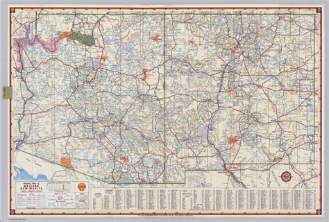 new mexico highway map arizona new mexico highway map