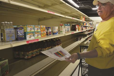 Northfield Township Food Pantry by Torch Donation Downfall Sparks Change