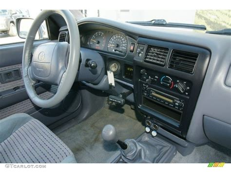 1999 Toyota Tacoma Interior by 1999 Toyota Tacoma Limited Extended Cab 4x4 Dashboard