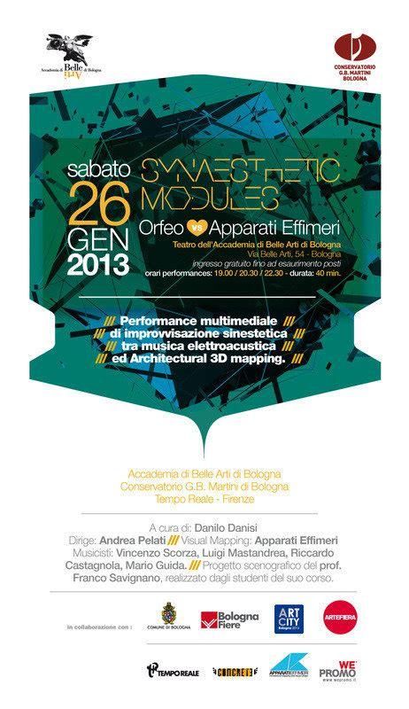 accademia arti bologna test ingresso synaesthetic modules accademia di arti bologna