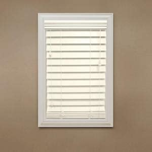 home decorators collection cut to width ivory 2 1 2 in