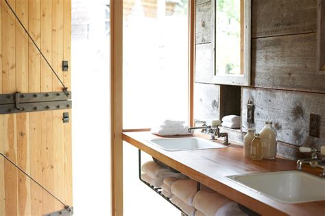 barn conversion bathrooms whidbey island barn conversion by shed architecture
