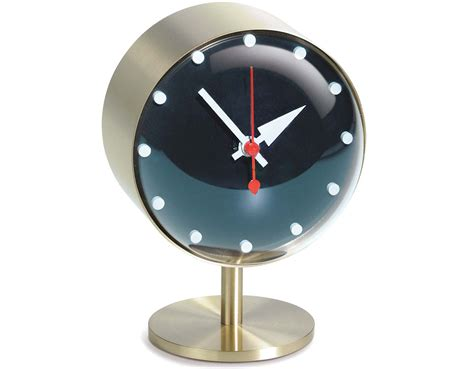 george nelson night desk clock hivemodern com