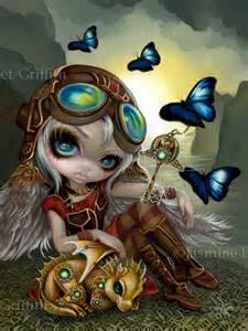 clockwork dragonling steampunk fairy dragon jasmine