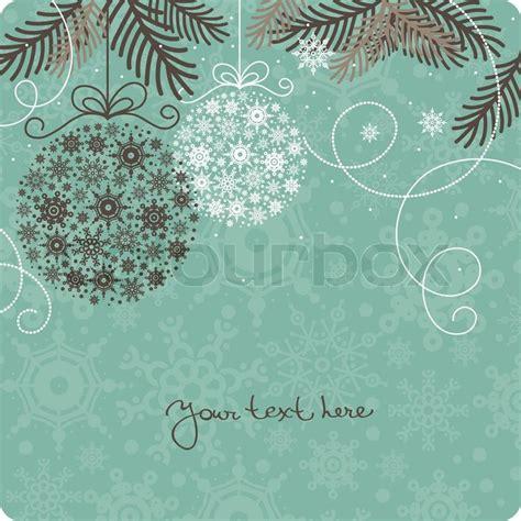 retro christmas background stock vector colourbox