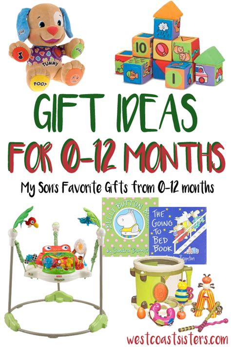 gifts for 7 months to 12 months babys gift ideas west coast