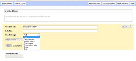 membuat kuesioner online menggunakan php membuat kuesioner sederhana menggunakan fasilitas google