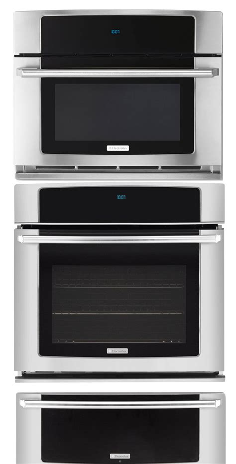 Wall Oven With Warming Drawer Combo by New Electrolux Stainless 27 Quot 27 Inch Wall Oven Microwave