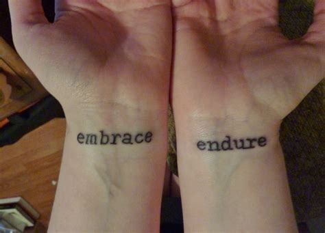 meaningful words for tattoos on wrist images