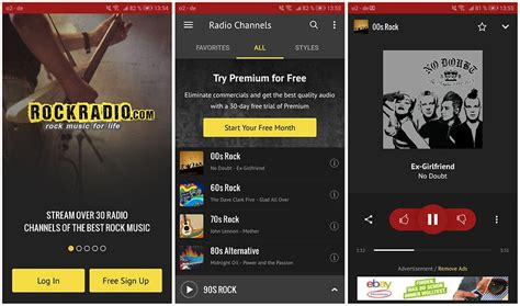 best rock radio the best radio apps for android 2018 androidpit