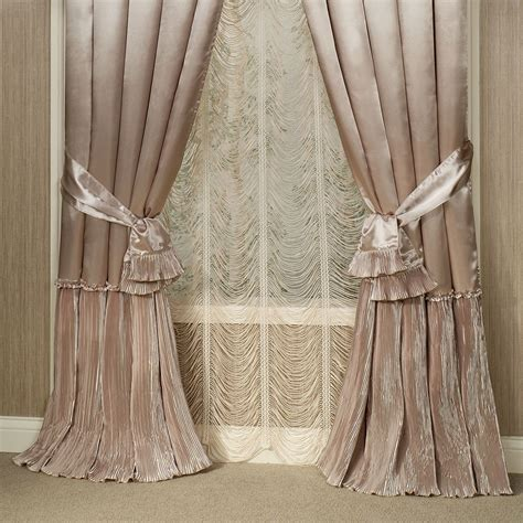 Blush Colored Curtains Blush Colored Curtains Solid Blush Colored Window Curtain Available In Blush Vintage Textured