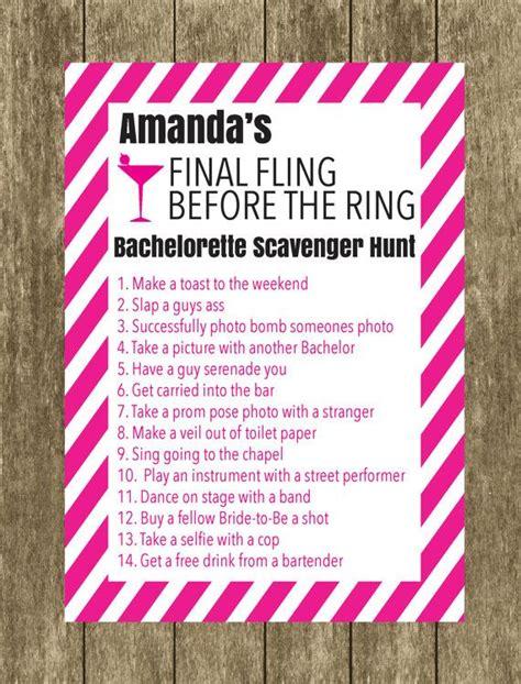 printable bachelorette to do list bachelorette scavenger hunt bride to be checklist
