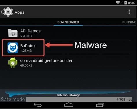 malware app for android how to remove malware from android smartphone