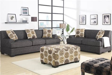 gray couch set 2 piece grey sofa set