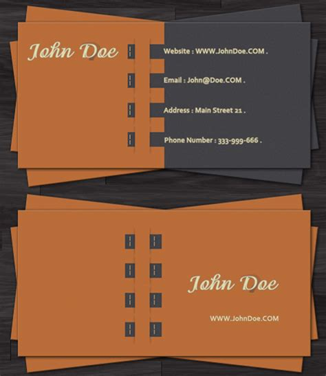 20 free psd business card templates for inspiration and