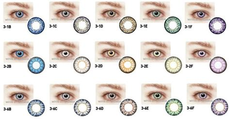 buy color contacts new bio monthly cosmetic contact lenses cheap color