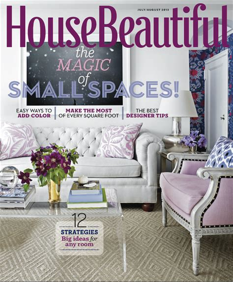 house beautiful magazine small space big style quintessence