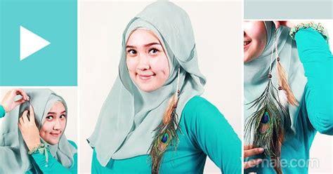 Gaya Berjilbab Segi Empat Cara Pake Cara Memakai Jilbab Segi Empat Simple