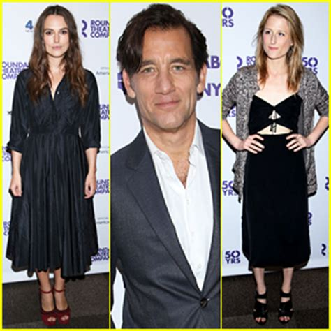 Keira Knightley Amuri And Mamie Gummer On The Carpet For Atonement by Reilly Photos News And Just Jared