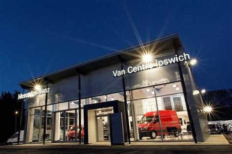 mercedes showroom exterior orwell opens 163 1m showroom for mercedes vans