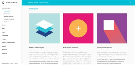 google design for web style guides as products sparkbox web design and
