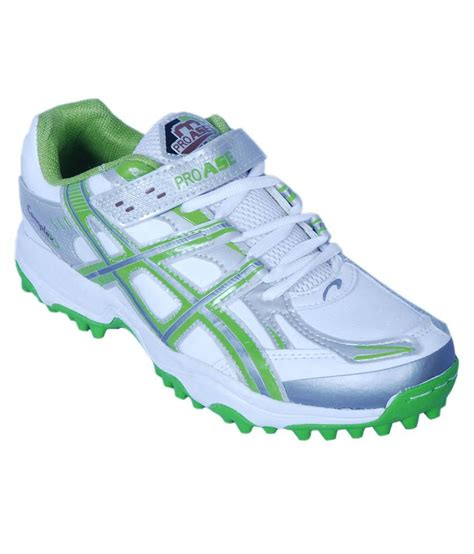 pro ase green synthetic leather sport shoe price in india
