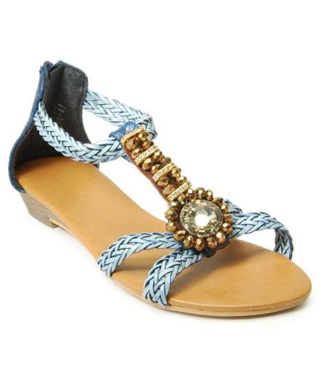 Flat Shoes Wedges Korean Rajut Light Blue 1 sant light blue flat sandals price in india buy sant light blue flat sandals at snapdeal