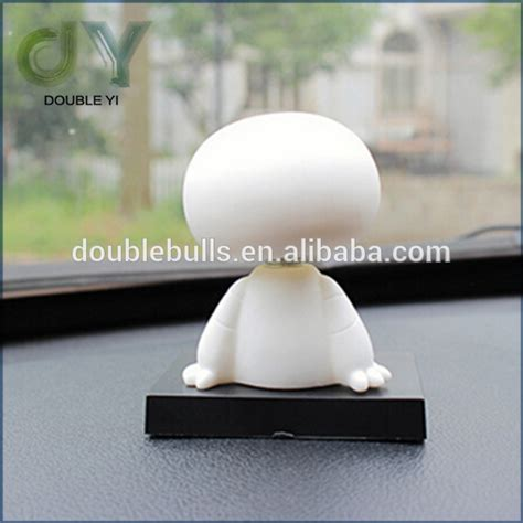 Baymax Solar Dashboard custom dashboard bobblehead for car interior decoration bobble kid s gift toys with