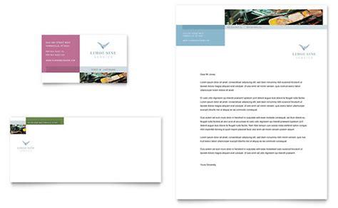 automotive business letterhead template limousine taxi service letterhead templates