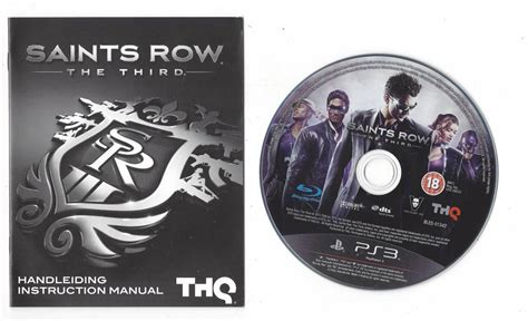 Row 3 Ps3 saints row the third playstation 3 ps3 for