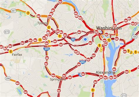 dc traffic map dc traffic map map2