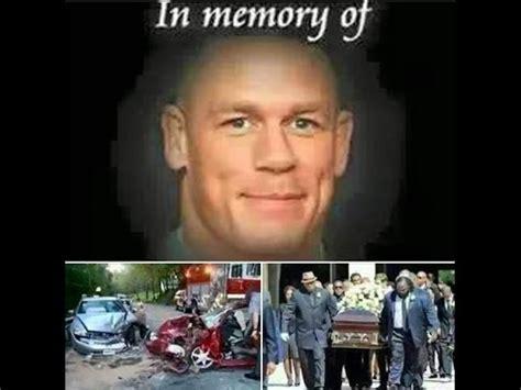 wwe john cena wrestler dies wwe superstar john cena not died in car accident 4th march