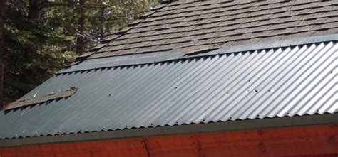 metal edging  roofs stop ice dams   real