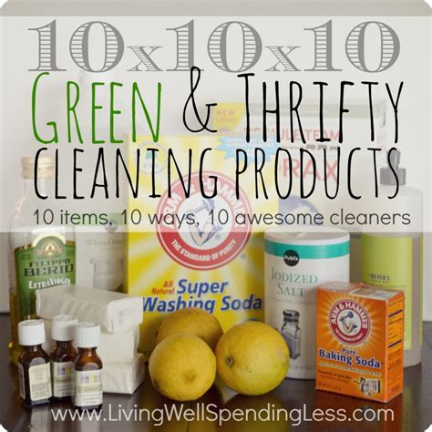 Green Thrifty Cleaning Products Living Well Spending Less 174 | get ready to clean day 8 living well spending less 174