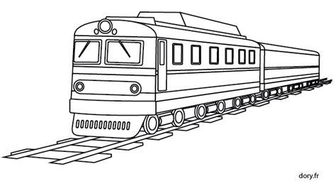 Coloriage Gratuit Un Train Dory Fr Coloriages Coloriage Dessin Train A Colorier L