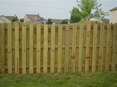 types of privacy fences for backyard wooden fence