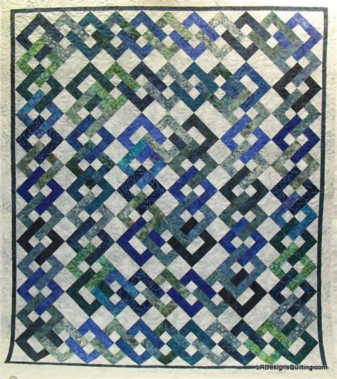 Chain Quilt Pattern Free island chain quilt one quilt two