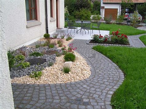 Wie Gestalte Ich Meinen Vorgarten by Garten Gestalten Mit Kies Bilder Wapdesire Wapdesire