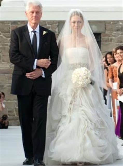 Chelsea Clinton Wedding Gown revealed chelsea clinton s two vera wang wedding dresses