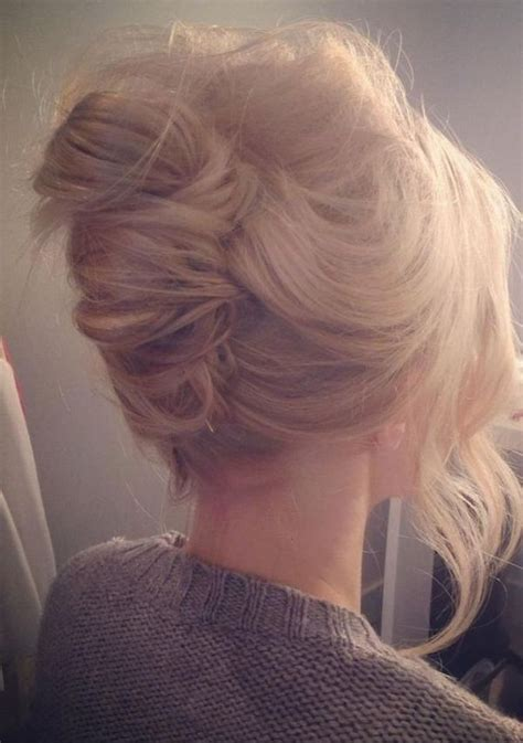 hair in a french roll hairstyle favourites the french twist wedding hair