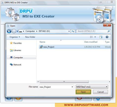 theme maker exe msi to exe creator software screenshots to explain file