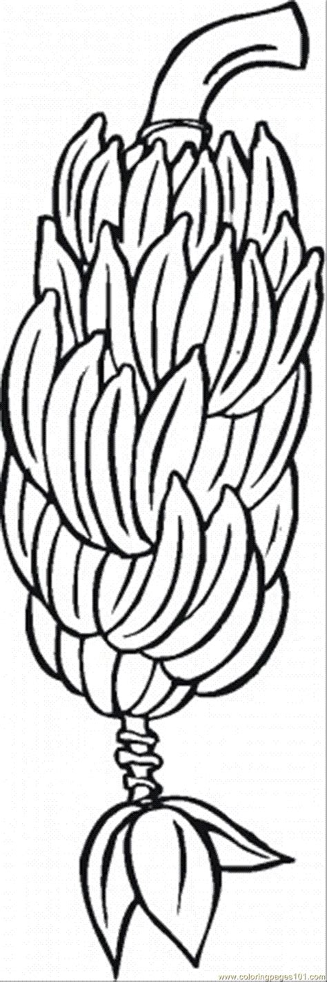 Banana 5 Coloring Page Free Bananas Coloring Pages Banana Tree Coloring Page