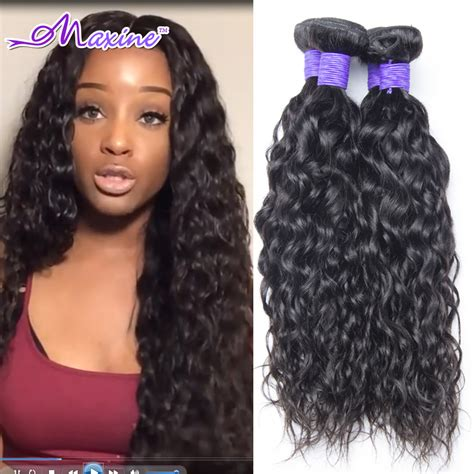 6a peruvian hair water wave curly 4pcs lot