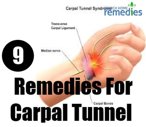 herbal remedies for carpal tunnel treatments cure for