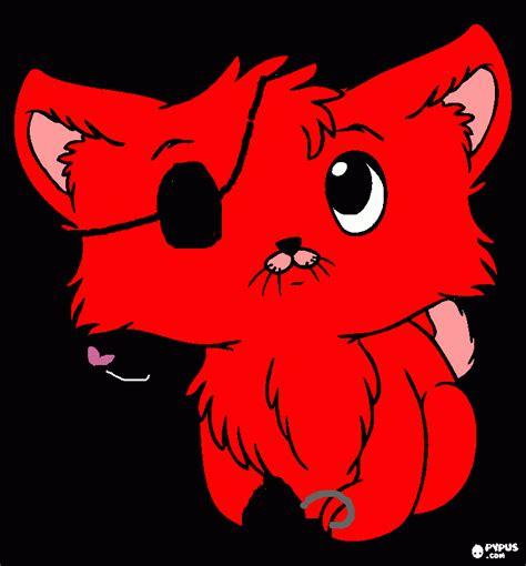 imagenes terrorificas de foxy gata foxy para colorear gata foxy para imprimir