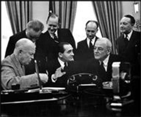Dwight Eisenhower Cabinet Members by Eisenhower Cabinet