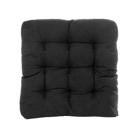 almofada futton confort 70x70 preto 517 - Almofada Futon 70x70