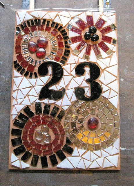 mosaic numbers pattern 17 best images about mosaic signs numbers letters on